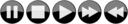Glossy Media Player Buttons Inverted