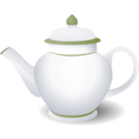 download Teapot clipart image with 225 hue color