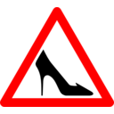 Shoe Traffic Sign