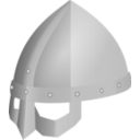 download Viking Spectacle Helmet clipart image with 315 hue color