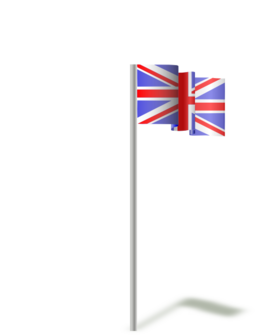 Flag Of The United Kingdom Wind