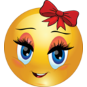 Thank You Ponee  Clipart-cute-girl-smiley-emoticon-be54