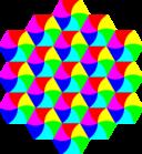 Swirly Hexagon Tessellation