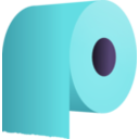 download Toilet Paper Roll clipart image with 225 hue color