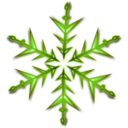 download Snowflake 1 Remix clipart image with 45 hue color