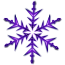 download Snowflake 1 Remix clipart image with 225 hue color