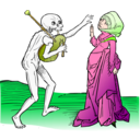 download Dance Macabre 9 clipart image with 45 hue color