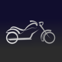 download Motorbike Icon clipart image with 45 hue color