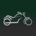 download Motorbike Icon clipart image with 315 hue color