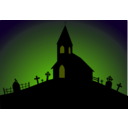 download Church clipart image with 45 hue color