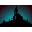 download Church clipart image with 135 hue color