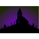 download Church clipart image with 225 hue color