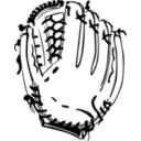download Baseball Glove clipart image with 225 hue color