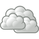 download Tango Weather Overcast clipart image with 45 hue color