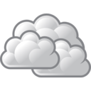 download Tango Weather Overcast clipart image with 135 hue color