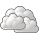 download Tango Weather Overcast clipart image with 315 hue color