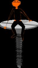 Hombre Tirafondo