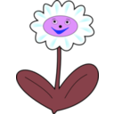 download Daisy Simle clipart image with 225 hue color