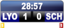 Video Soccer Score Display