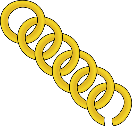 Gold Chain Of Round