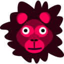 download Crazy Lion clipart image with 315 hue color