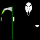 Color Wheel Of Grim Reaper Clipart