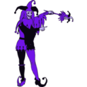 download Jester clipart image with 225 hue color