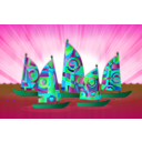 download Sails clipart image with 135 hue color