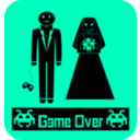 download Gameoverboda clipart image with 225 hue color