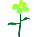 download Flower clipart image with 45 hue color