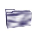 download Folder Icon Plastic Empty clipart image with 225 hue color