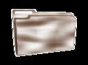 Folder Icon Plastic Empty