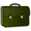 download Briefcase clipart image with 45 hue color