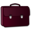 download Briefcase clipart image with 315 hue color