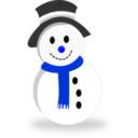 download Snowman clipart image with 225 hue color