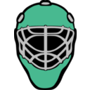 download Goalie Mask Simple clipart image with 45 hue color