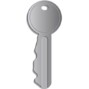 download Key clipart image with 45 hue color