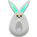 download Easter Egg Bunny clipart image with 225 hue color