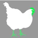 download Hen By Rones clipart image with 135 hue color