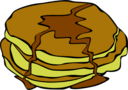Fast Food Breakfast Pancakes