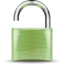 download Open Padlock clipart image with 45 hue color