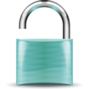 download Open Padlock clipart image with 135 hue color