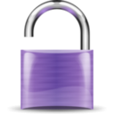 download Open Padlock clipart image with 225 hue color