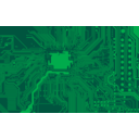 download Circuit Board clipart image with 45 hue color