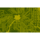 download Circuit Board clipart image with 315 hue color