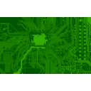 download Circuit Board clipart image with 0 hue color