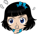 Shsh Girl Manga Smiley Emoticon