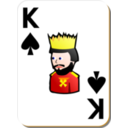White Deck King Of Spades