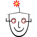 Human With Flower