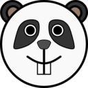 Happy Panda Face Clipart I2clipart Royalty Free Public Domain Clipart